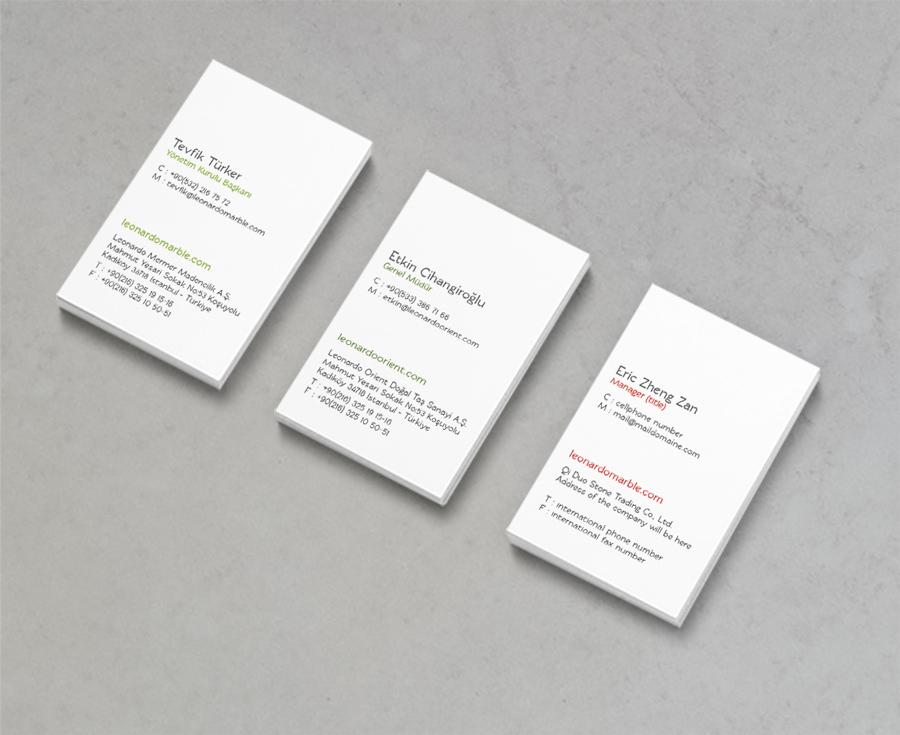 Leonardo Marble – corporate identity   eyesdontlie